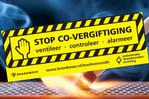 koolmoxidemelders stop koolmonoxide vergiftiging